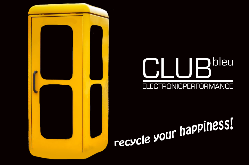CLUbbleu phone box